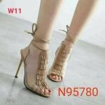 รองเท้าแฟชั่น ส้นสูง รัดข้อ หุ้มหน้าเท้าใสแต่งหนังพู่ สายรัดข้อแบบพันข้อสวยเก๋ปราดเปรียว หนังนิ่ม ทรงสวย สูงประมาณ 4 นิ้ว ใส่สบาย แมทสวยได้ทุกชุด (N95780)