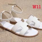 รองเท้าแตะแฟชั่น แบบสวม รัดข้อ หน้าคาดหน้า H สไตล์แอร์เมสสวยเก๋ หนังนิ่ม ทรงสวย ใส่สบาย แมทสวยได้ทุกชุด (GS35)