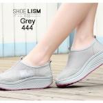 รองเท้าผ้าใบแฟชั่น เสริมส้น ผ้ายืดระบายอากาศหนานุ่ม ไร้เชือก ใส่ง่าย วัสดุอย่างดี ทรงสวย ด้านในบุซัพพอร์ทนุ่ม น้ำหนักเบา ส้นสูง 2 นิ้ว ใส่สบาย ใส่เที่ยว ออกกำลังกาย แมทสวยเท่ห์ได้ทุกชุด (444)