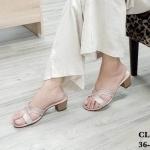 รองเท้าแฟชั่น ส้นสูง คาดหน้า H สไตล์แอร์เมสแต่งกลิสเตอร์วิ้งสวยหรู หนังนิ่ม ทรงสวย ส้นแต่งลายไม้ สูงประมาณ 2 นิ้ว ใส่สบาย แมทสวยได้ทุกชุด