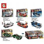 เลโก้จีน SY.6776-6779 ชุด Fast Champions