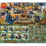 เลโก้จีน LELE.36019 ชุด Battlegrounes