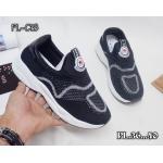 รองเท้าผ้าใบแฟชั่น แต่งลายสไตล์เกาหลี ไร้เชือก ใส่ง่าย วัสดุอย่างดี ทรงสวยใส่สบาย ใส่เที่ยว ออกกำลังกาย แมทสวยเท่ห์ได้ทุกชุด (PL-C16)