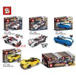 เลโก้จีน SY.6792-6795 ชุด Fast Champions