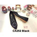 รองเท้าคัทชู ส้นเตี้ย แต่งอะไหล่สวยหรู หนังนิ่ม ทรงสวย ใส่สบาย แมทสวยได้ทุกชุด (CA252)