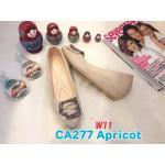 รองเท้าคัทชู ส้นเตารีด แต่งอะไหล่สวยหรู หนังนิ่ม ทรงสวย สูงประมาณ 2 นิ้ว ใส่สบาย แมทสวยได้ทุกชุด (CA277)