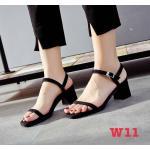 รองเท้าแฟชั่น ส้นสูง แบบสวม รัดส้น คาด 2 เส้น แบบเปลือยเท้าสวยเรียบเก๋ หนังนิ่ม ทรงสวย สูงประมาณ 2.5 นิ้ว ใส่สบาย แมทสวยได้ทุกชุด