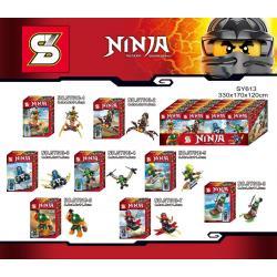 เลโก้จีน SY613 ชุด Ninja Go