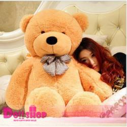 ตุ๊กตาหมียิ้ม light brown 1.2 เมตร