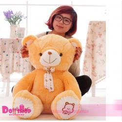 ตุ๊กตาหมีอ้วน Light Brown 1.4 เมตร