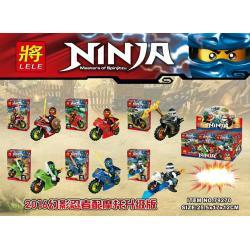 เลโก้จีน LELE 79270 ชุด Ninja Go+มอเตอร์ไซต์