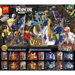 เลโก้จีน LELE.31089 ชุด Ninja Go Movie 2in1