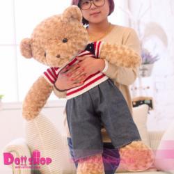 ตุ๊กตาหมีขนกุหลาบ ผู้ชาย 1.0 เมตร