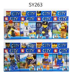 เลโก้จีน SY263 City