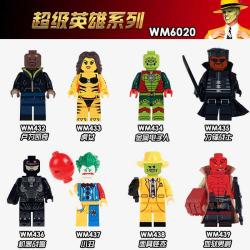 เลโก้จีน WM.432-439 ชุด Minifigures (สินค้ามือ 1 ไม่มีกล่อง)