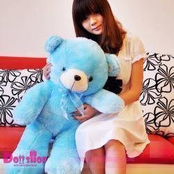 ตุ๊กตาหมีอ้วน Blue 1.0 เมตร