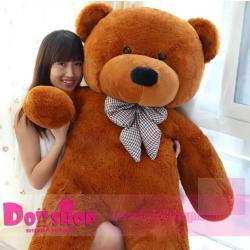 ตุ๊กตาหมียิ้ม brown 1.8 เมตร