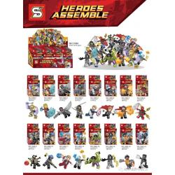 เลโก้จีน SY.1060 ชุด Avengers Infinity War