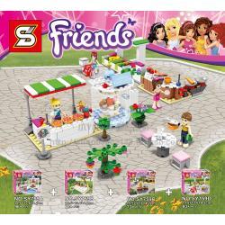 เลโก้จีน SY759 ชุด Friends