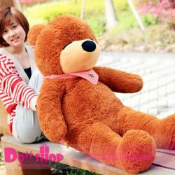 ตุ๊กตาหมีหลับ brown 1.4 เมตร