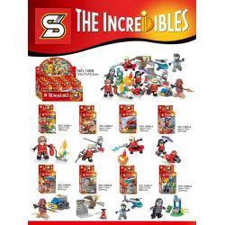 เลโก้จีน SY.1089 ชุด The Increidibles