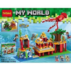 เลโก้จีน Decool.823 ชุด Minecraft