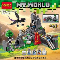 เลโก้จีน Decool.822 ชุด Minecraft