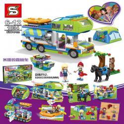 เลโก้จีน SY.1034 ชุด Friends Mia's Camper Van