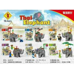 เลโก้จีน SL.89101 ชุด Thai Elephant