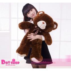 ตุ๊กตาหมีอ้วน Brown 1.0 เมตร