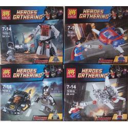 เลโก้จีน LELE 79189 A-D ชุด Heroes Gathering