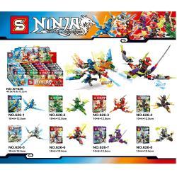 เลโก้จีน SY626 ชุด Ninja Go