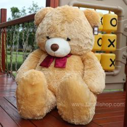 ตุ๊กตาหมีไจแอนท์ Light brown 50 นิ้ว