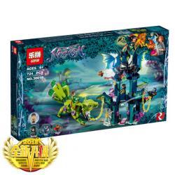 เลโก้จีน LEPIN.30018 ชุด Elves Noctura's Tower & the Earth Fox Rescue