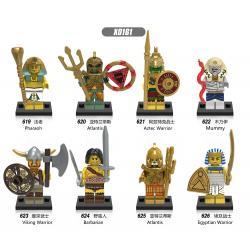เลโก้จีน XINH.619-626 ชุด Minifigures (สินค้ามือ 1 ไม่มีกล่อง)