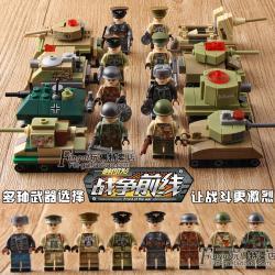 เลโก้จีน Sembo.12620-12627 ชุด Front of the War II