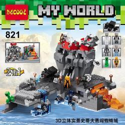 เลโก้จีน Decool.821 ชุด Minecraft