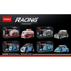 เลโก้จีน Decool 2220-2223 ชุด Racing Pacemaker