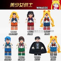 เลโก้จีน WM.525-531 ชุด Minifigures (สินค้ามือ 1 ไม่มีกล่อง)