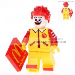 เลโก้จีน WM.230 ชุด McDonald (สินค้ามือ 1 ไม่มีกล่อง)