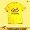 เสื้อยืดสีเหลือง เสื่้อเหลือง ทรงพระเจริญ รัชกาลที่ 10 ลายที่ 1