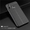 เคส Xiaomi Mi8 ซิลิโคน TPU ลายหนัง (เคสนิ่ม)