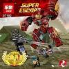 เลโก้จีน LEPIN.07102 ชุด Avenger Infinity War The Hulkbuster Smash-UP