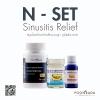 ยาสมุนไพรรักษา ริดสีดวงจมูก ภูมิแพ้ และ ไซนัสอักเสบ (Sinusitis) ทั้งเฉียบพลัน และ เรื้อรัง N-SET
