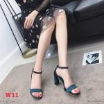 รองเท้าแฟชั่น ส้นสูง แบบสวม รัดข้อ แต่งผ้าซาตินเงา สายรัดข้อแต่งตุ้งติ้งเพชรสวยเรียบหรู ส้นเหลี่ยมสวยเก๋ หนังนิ่ม ทรงสวย สูงประมาณ 3 นิ้ว ใส่สบาย แมทสวยได้ทุกชุด (K59118)