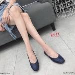 รองเท้าคัทชู ส้นแบน ทรงหัวตัด ดีไซน์สวยเรียบเก๋ หนังนิ่ม ทรงสวย ใส่สบาย แมทสวยได้ทุกชุด (K6001)