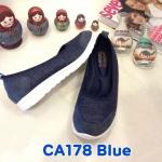 รองเท้าคัทชู ส้นเตี้ย สไตล์เพื่อสุขภาพ สวยเรียบเก๋ พื้นนิ่มซัปพอร์ตเท้า งานสวย ใส่สบาย แมทสวยได้ทุกชุด (CA178)