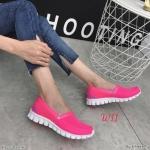 รองเท้าผ้าใบแฟชั่น ทรง slip on ผ้าหนานุ่ม ไร้เชือก ใส่ง่าย วัสดุอย่างดี ทรงสวย ใส่สบาย ใส่เที่ยว ออกกำลังกาย แมทสวยเท่ห์ได้ทุกชุด (WL210)