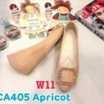 รองเท้าคัทชู ส้นเตารีด แต่งอะไหล่เข็มขัดสวยเก๋ หนังนิ่ม พื้นนิ่ม ทรงสวย ส้นสูงประมาณ 2 นิ้ว ใส่สบาย แมทสวยได้ทุกชุด (CA405)
