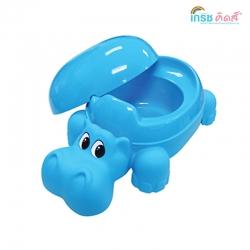 กระโถนเด็ก ฮิปปี้ (สีฟ้า) ยกลัง(6 ชิ้น)